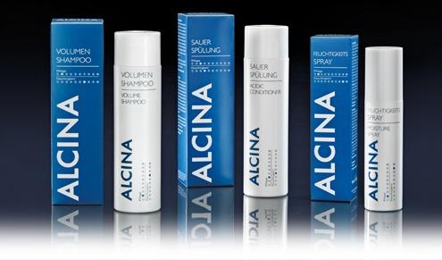 Gruppenfoto Alcina Haircare Feuchtigkeitspflege