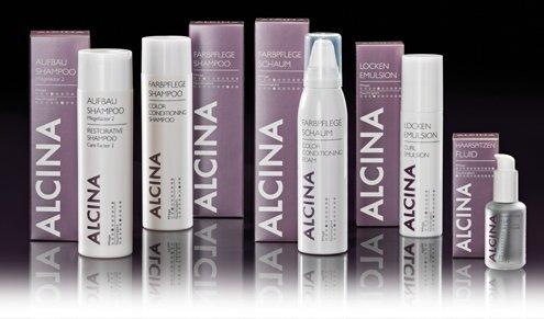 Gruppenfoto Alcina Haircare Intensive-Pflege