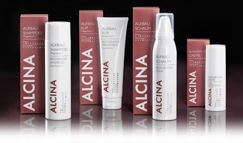 Gruppenfoto Alcina Haircare leichte Pflege